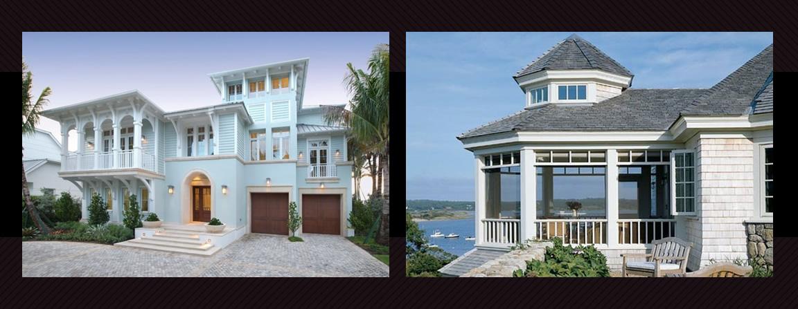 Beachhouse Architectural Style Coastal Homes