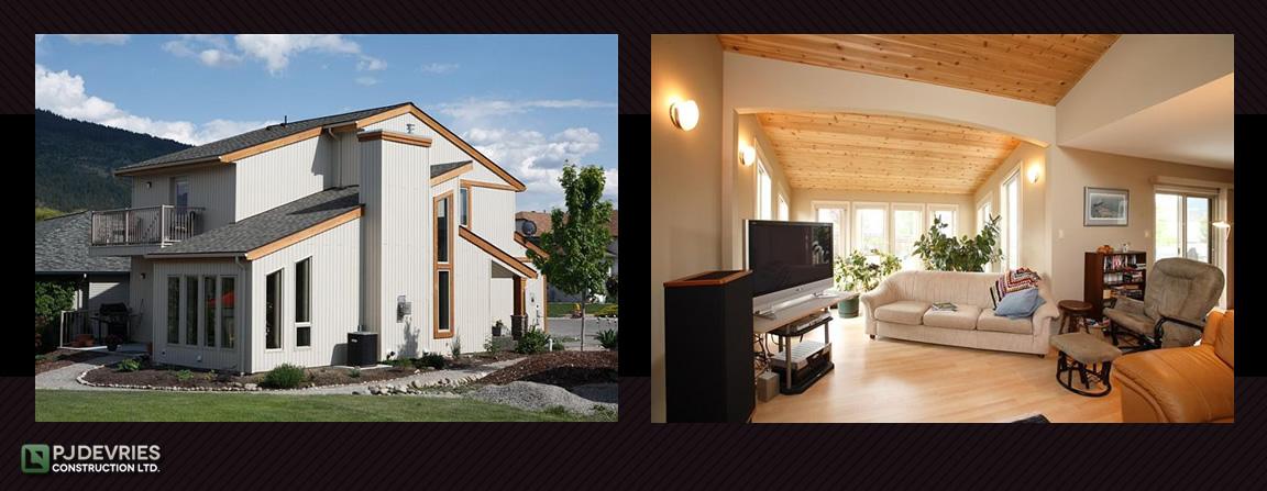Westcoast contemporary interior and exterior