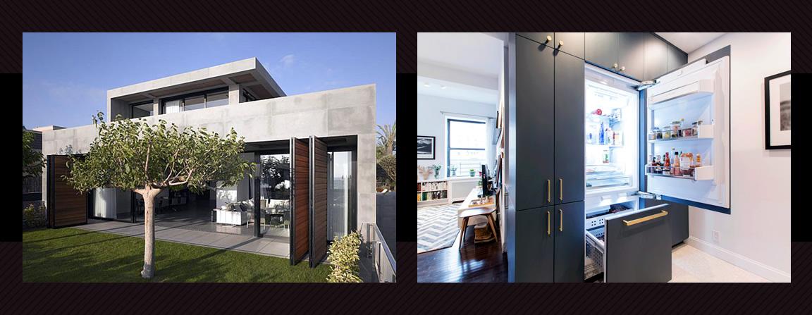 Modern minimalistic home style