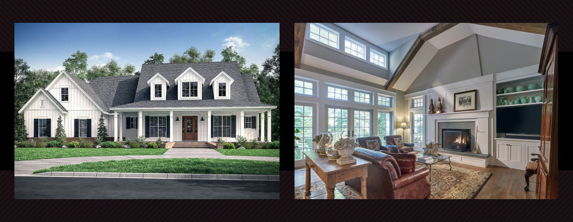 Modern Country homes offer so much beauty, function and architectural interest