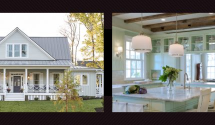 The traditional Country home is a favourite for its relaxed, casual style and integration with outdoor living